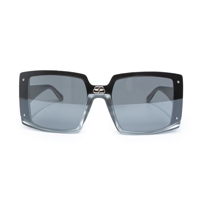 Очки Balenciaga Shield серые