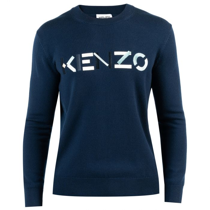 Пуловер Kenzo синий