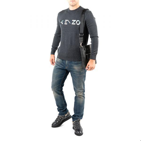 Пуловер Kenzo темно-серый