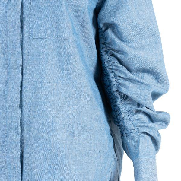 Рубашка длин.рук. 3.1 Phillip Lim голубая
