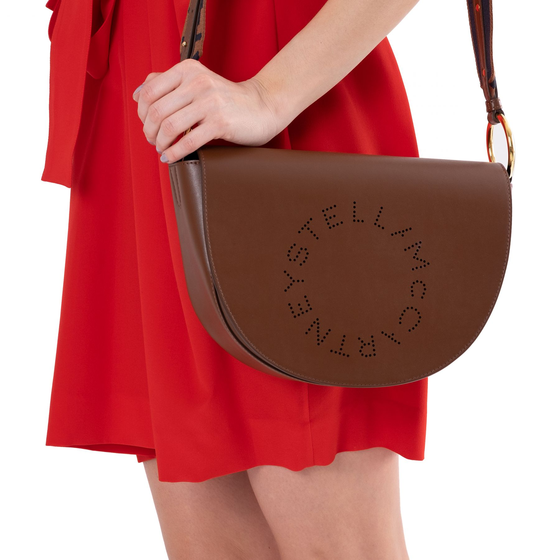 Сумка Stella McCartney Marlee коричневая