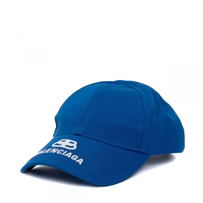 Бейсболка Balenciaga синяя