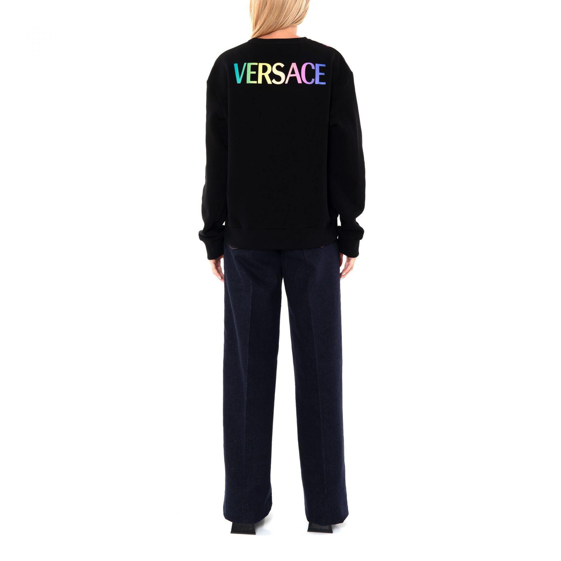 Свитшот Versace разноцветный