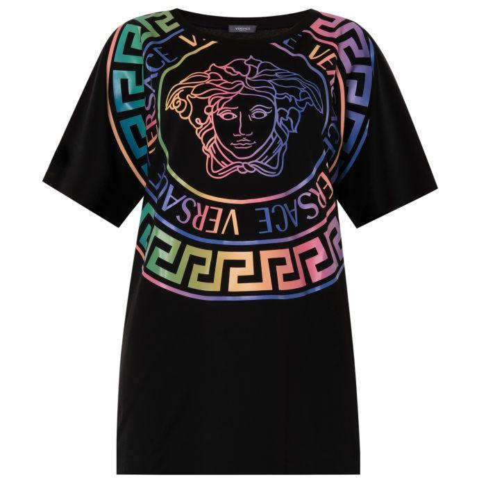 Футболка Versace разноцветная