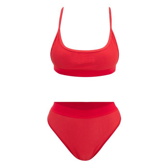 Купальник Frankie's Bikinis вишневый