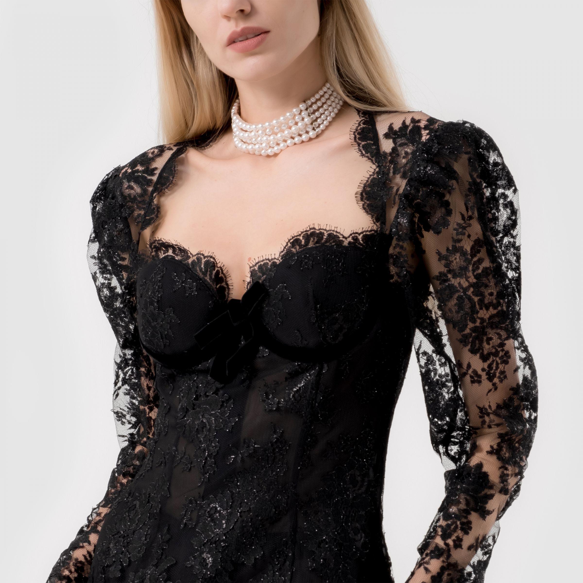 Ожерелье Alessandra Rich белое
