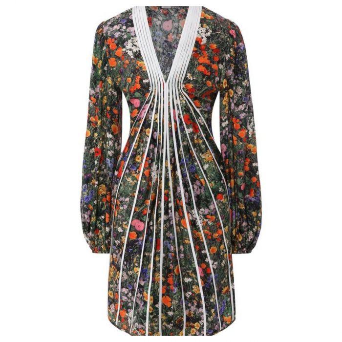 Платье Stella McCartney разноцветное