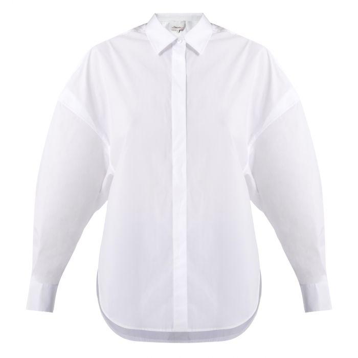Рубашка с длинными рукавами 3.1 Phillip Lim белая