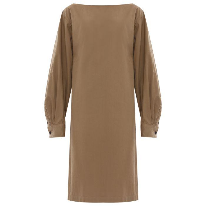Платье Dries Van Noten бежевое