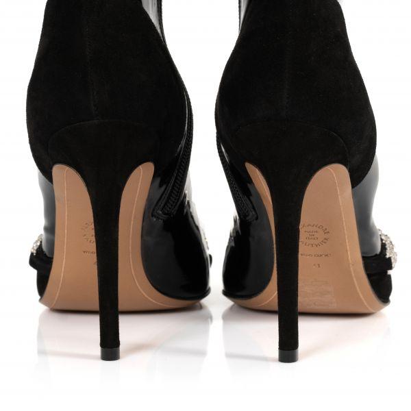 Ботинки Alexandre Vauthier Ane 100 черные