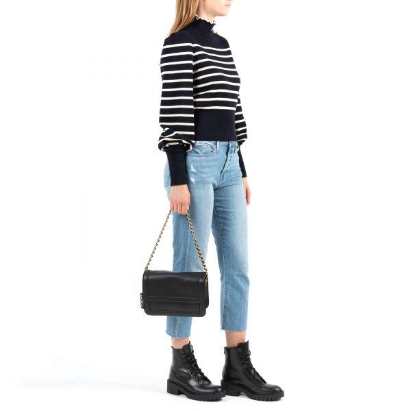 Сумка Marc Jacobs The Cushion Bag черная
