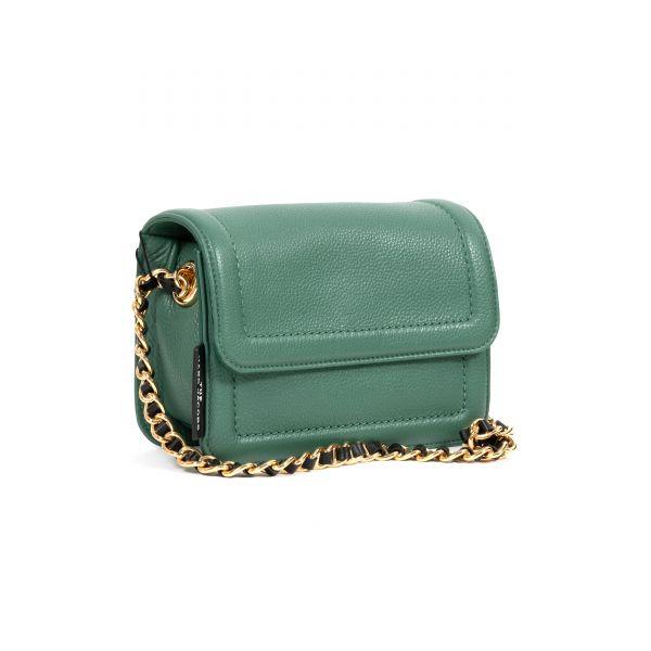 Сумка Marc Jacobs The Mini Cushion Bag зеленая