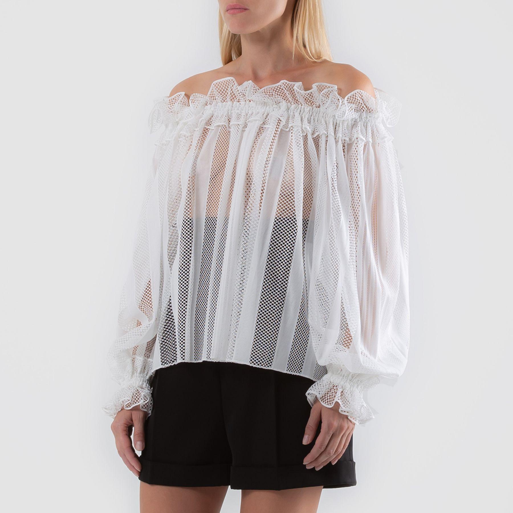 Блуза Alaia белая