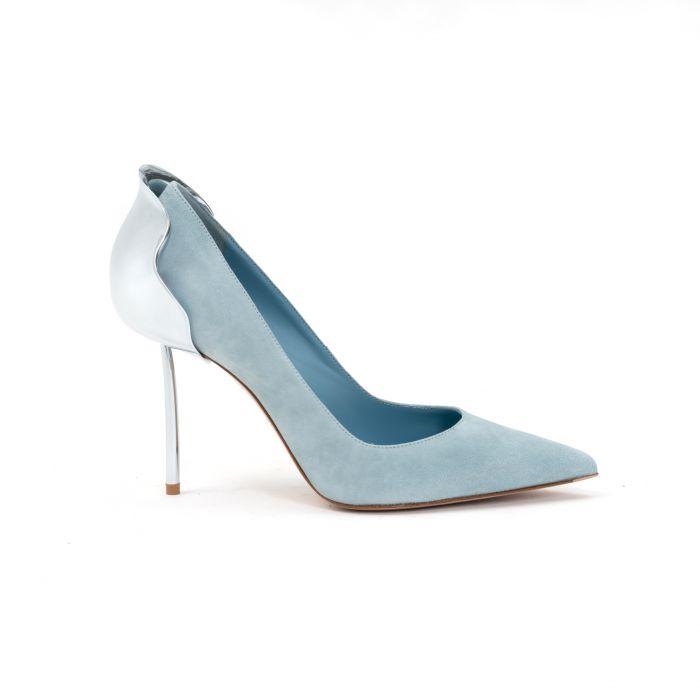 Лодочки Le Silla Petalo Pump светло-голубые