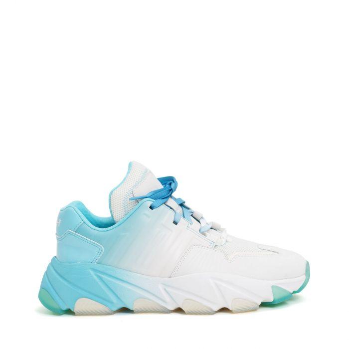Кроссовки ASH Extasy бело-голубые