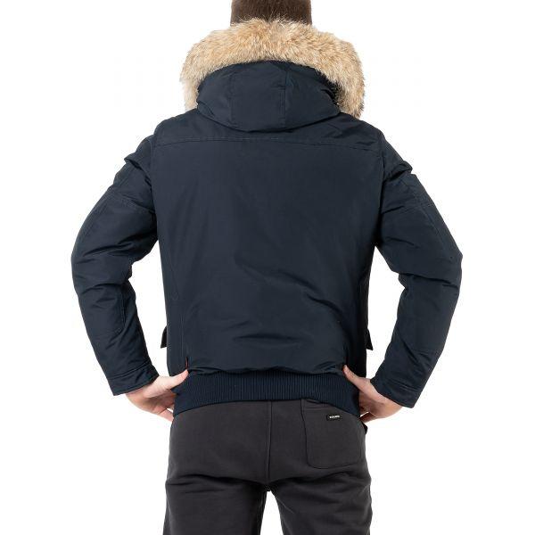 Пуховик Woolrich Polar темно-синий