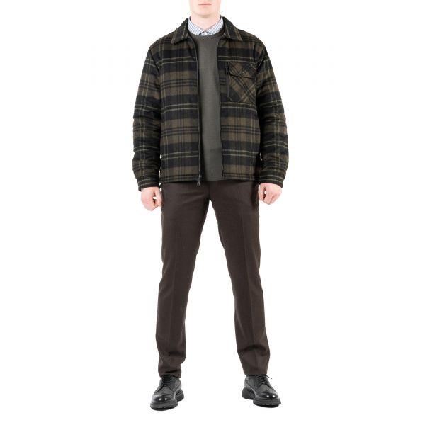 Куртка Woolrich Timber зелено-серая