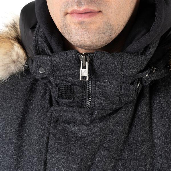 Парка Woolrich Arctic темно-серая