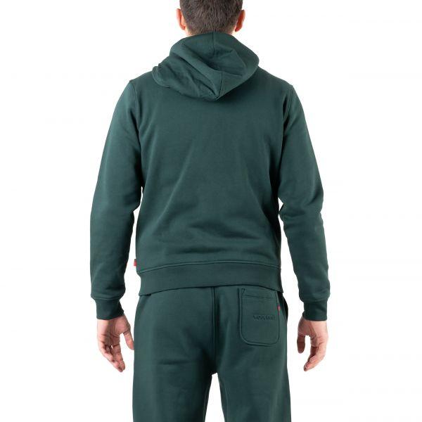 Худи Woolrich Luxury темно-зеленое
