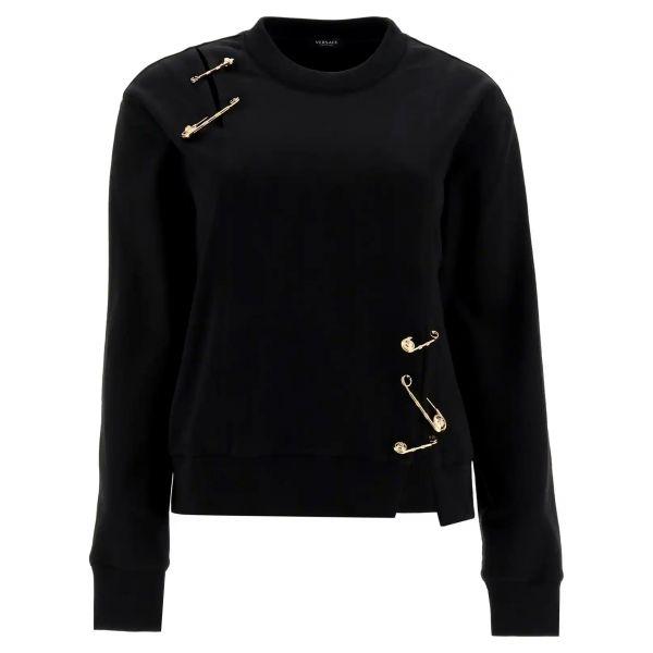 Свитшот Versace черный
