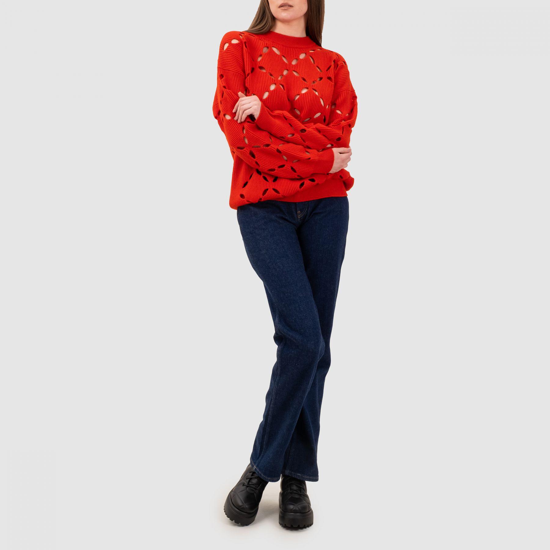 Джемпер Versace красный