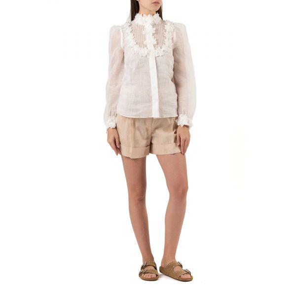 Блуза Zimmermann LOVESTRUCK белая
