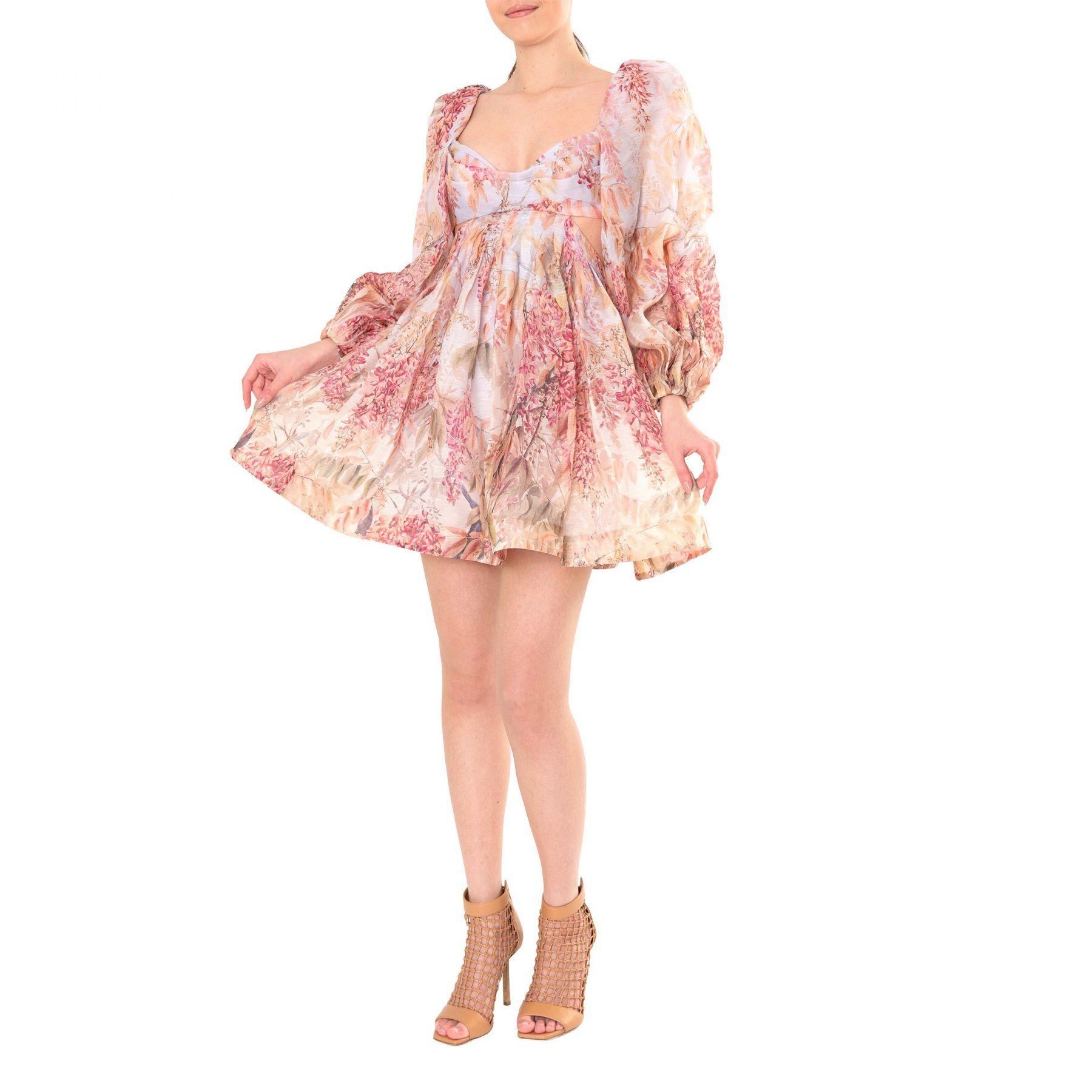 Платье Zimmermann Botanica разноцветное