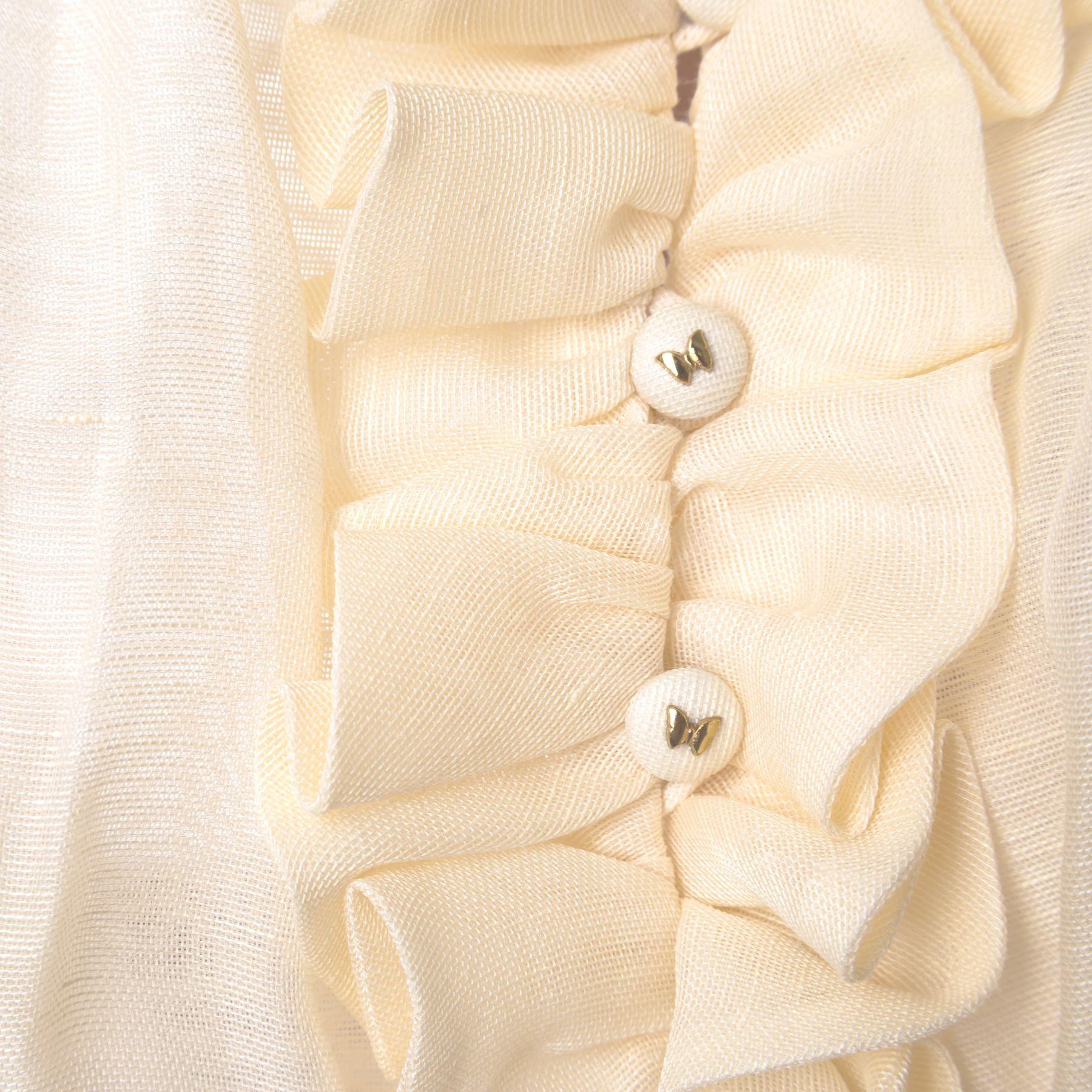 Платье длинное Zimmermann кремовое