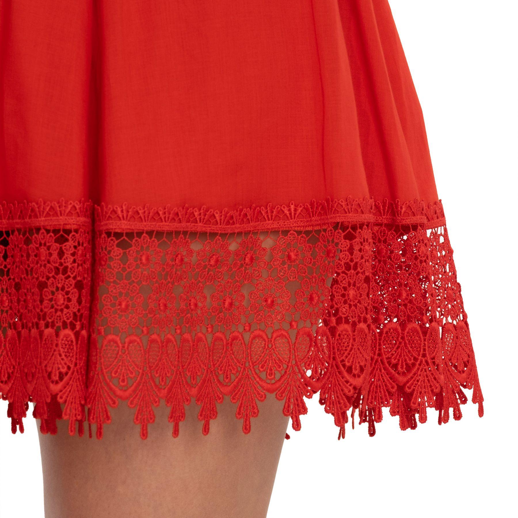 Платье Charo Ruiz красное