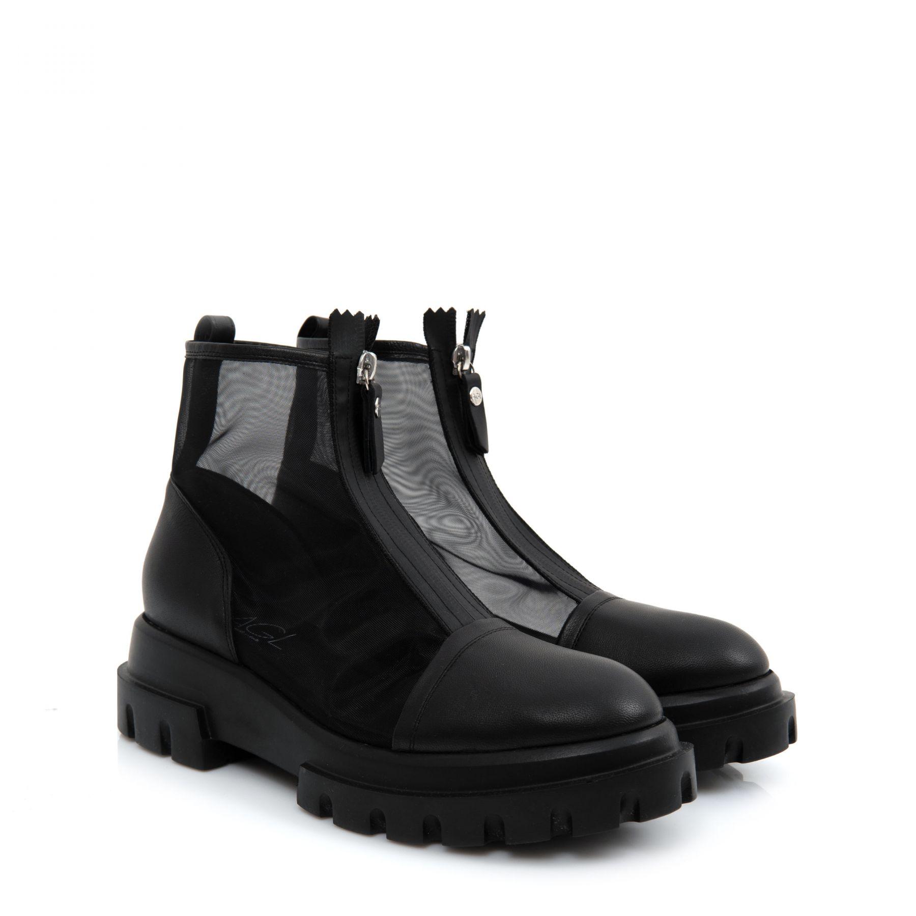 Ботинки AGL Shasa черные