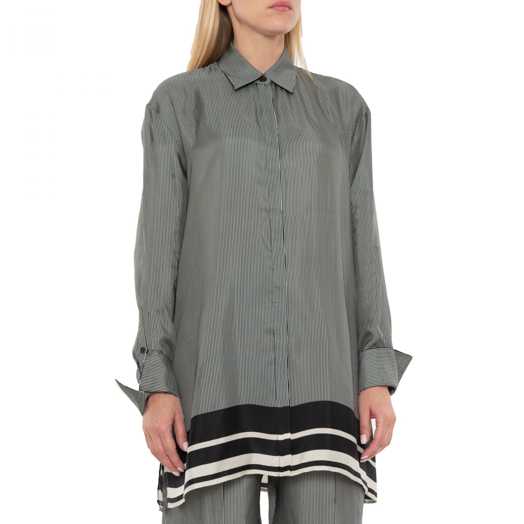 Рубашка с длинными рукавами Joseph Bawson серая