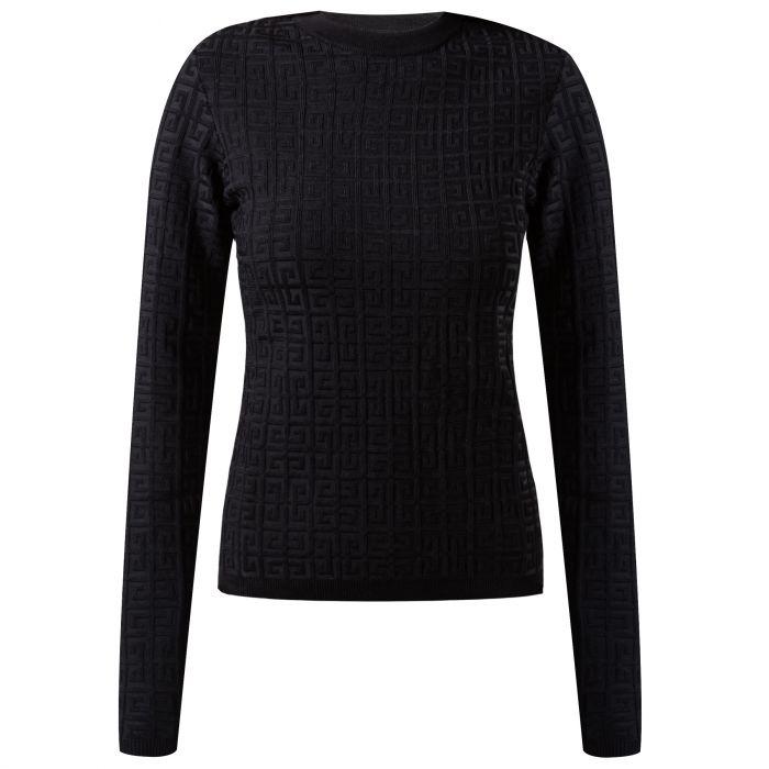 Пуловер Givenchy черный