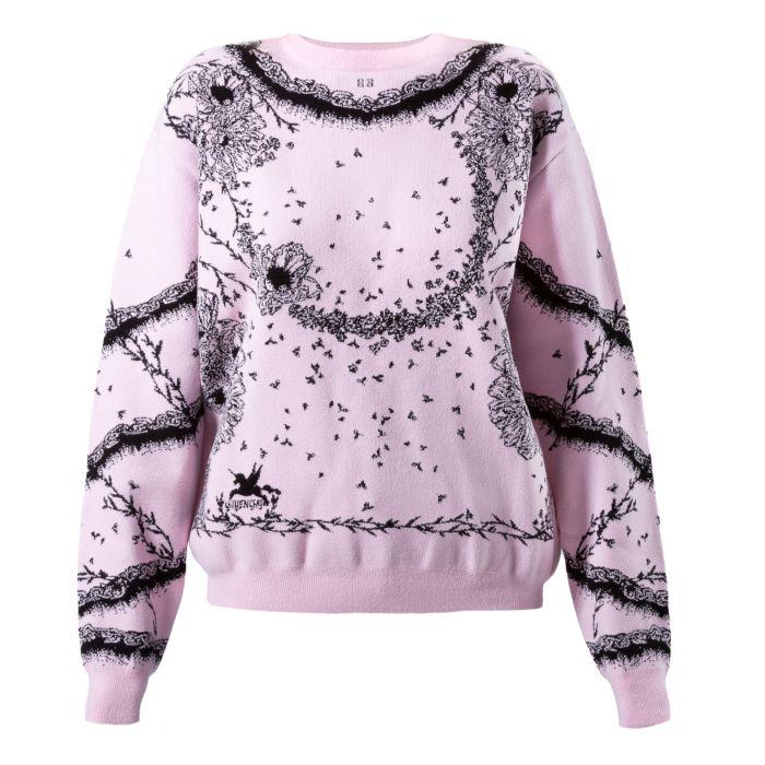 Пуловер Givenchy розовый