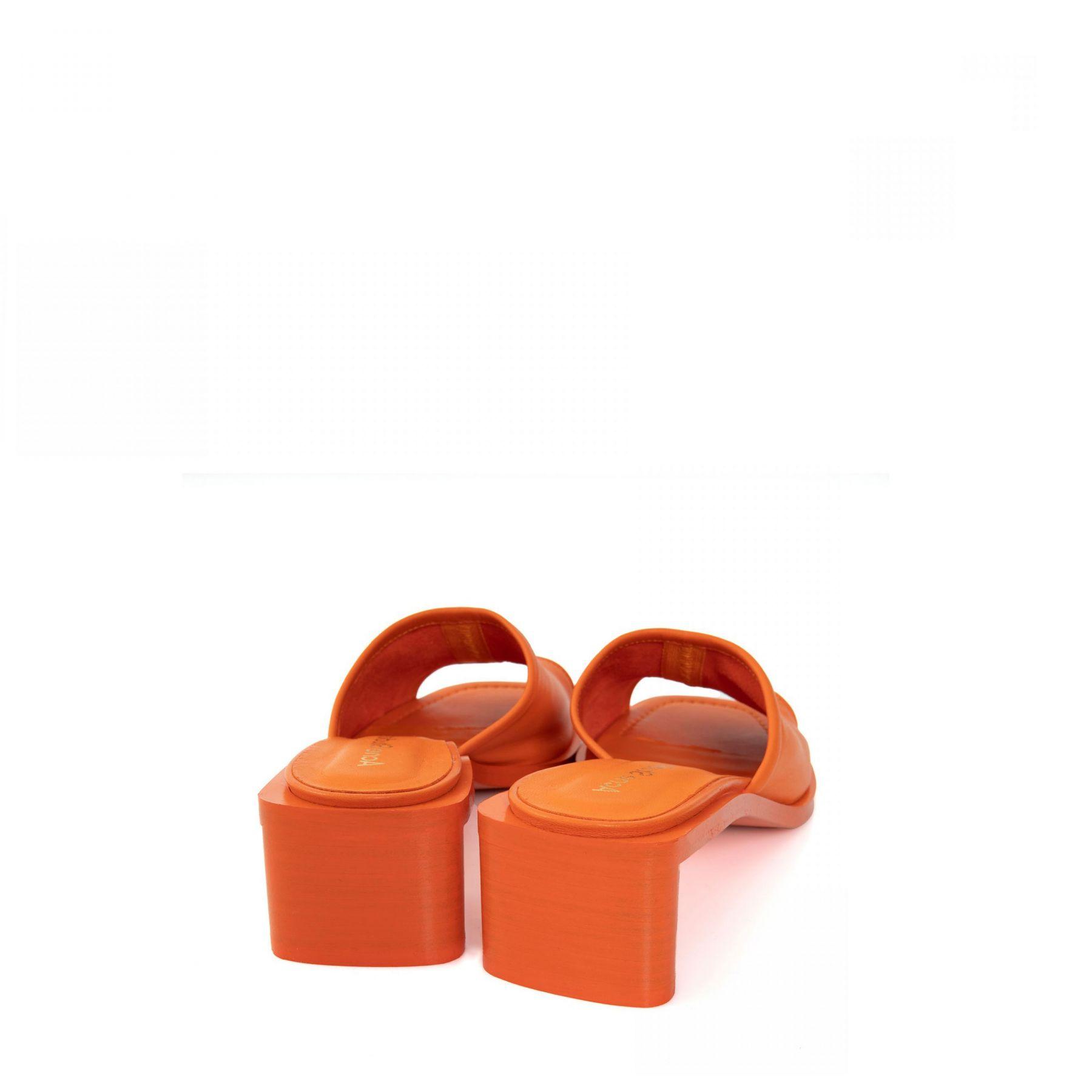 Сабо Acne Studios оранжевые