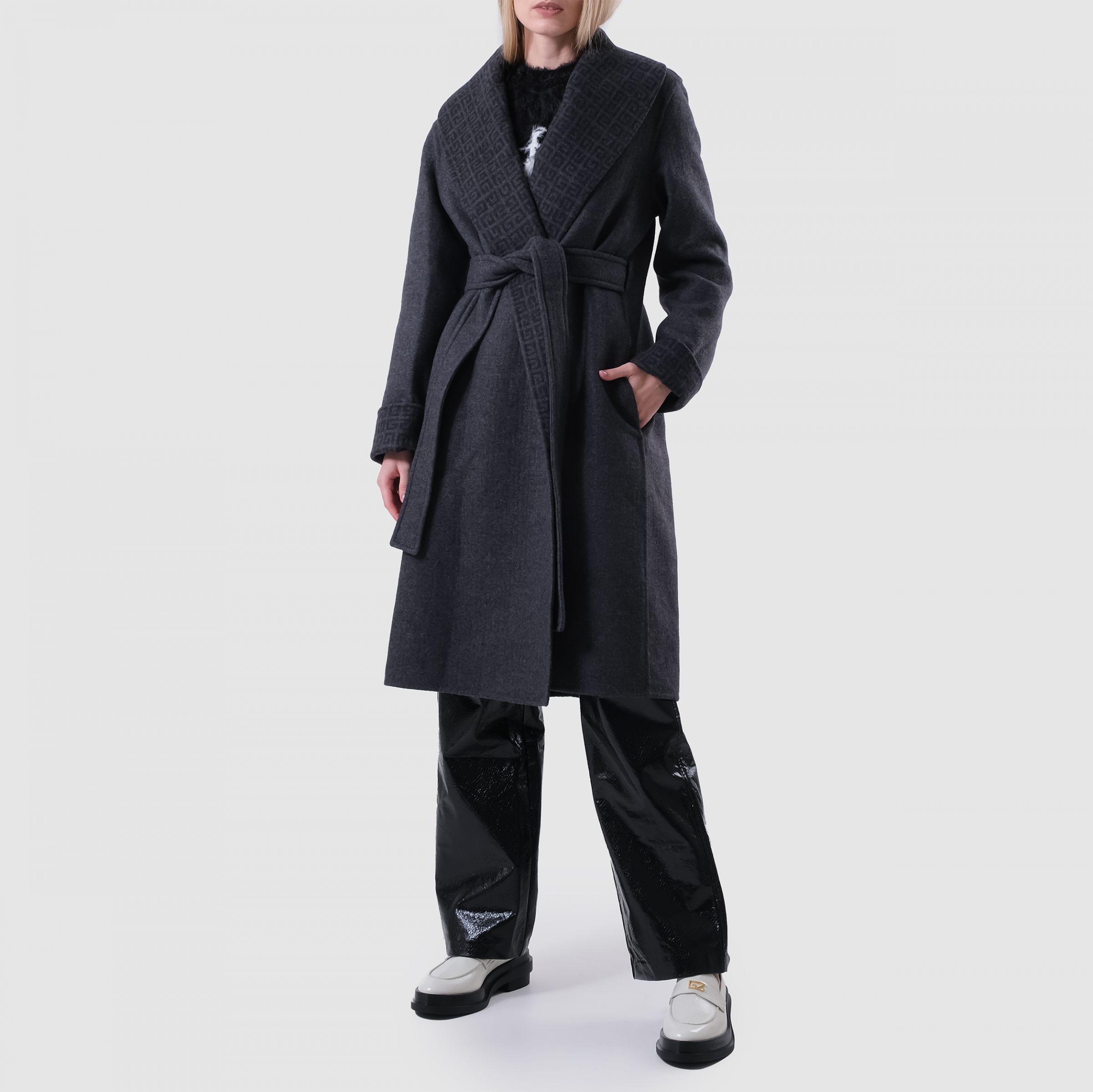 Пальто Givenchy серое