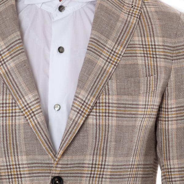 Пиджак Eleventy коричневый