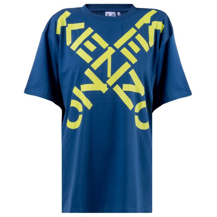 Футболка Kenzo Sport синяя