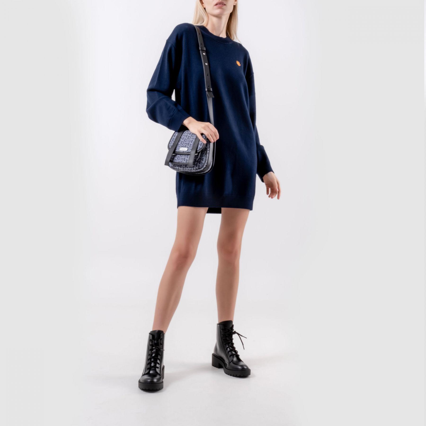 Платье Kenzo темно-синее