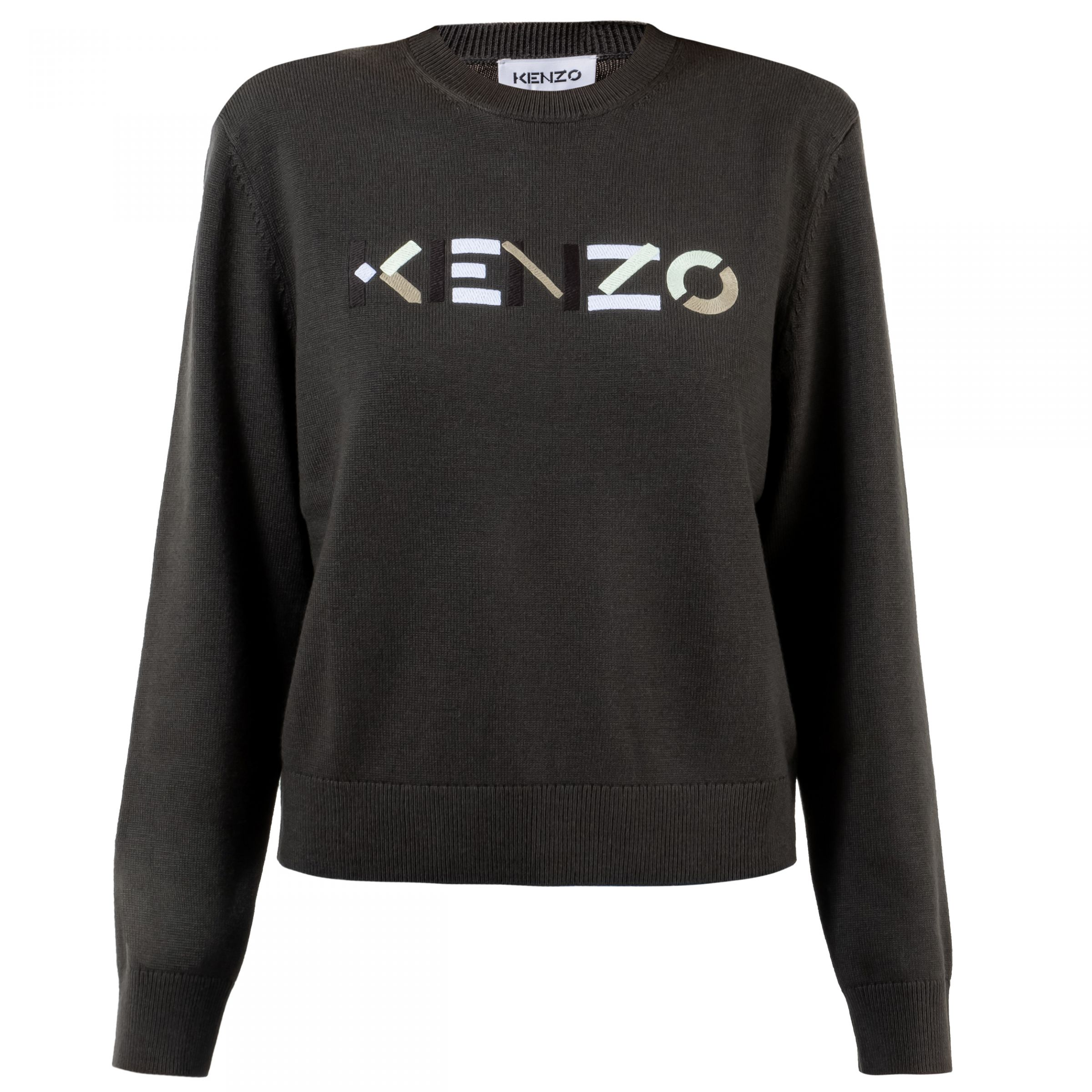 Свитер Kenzo темно-серый