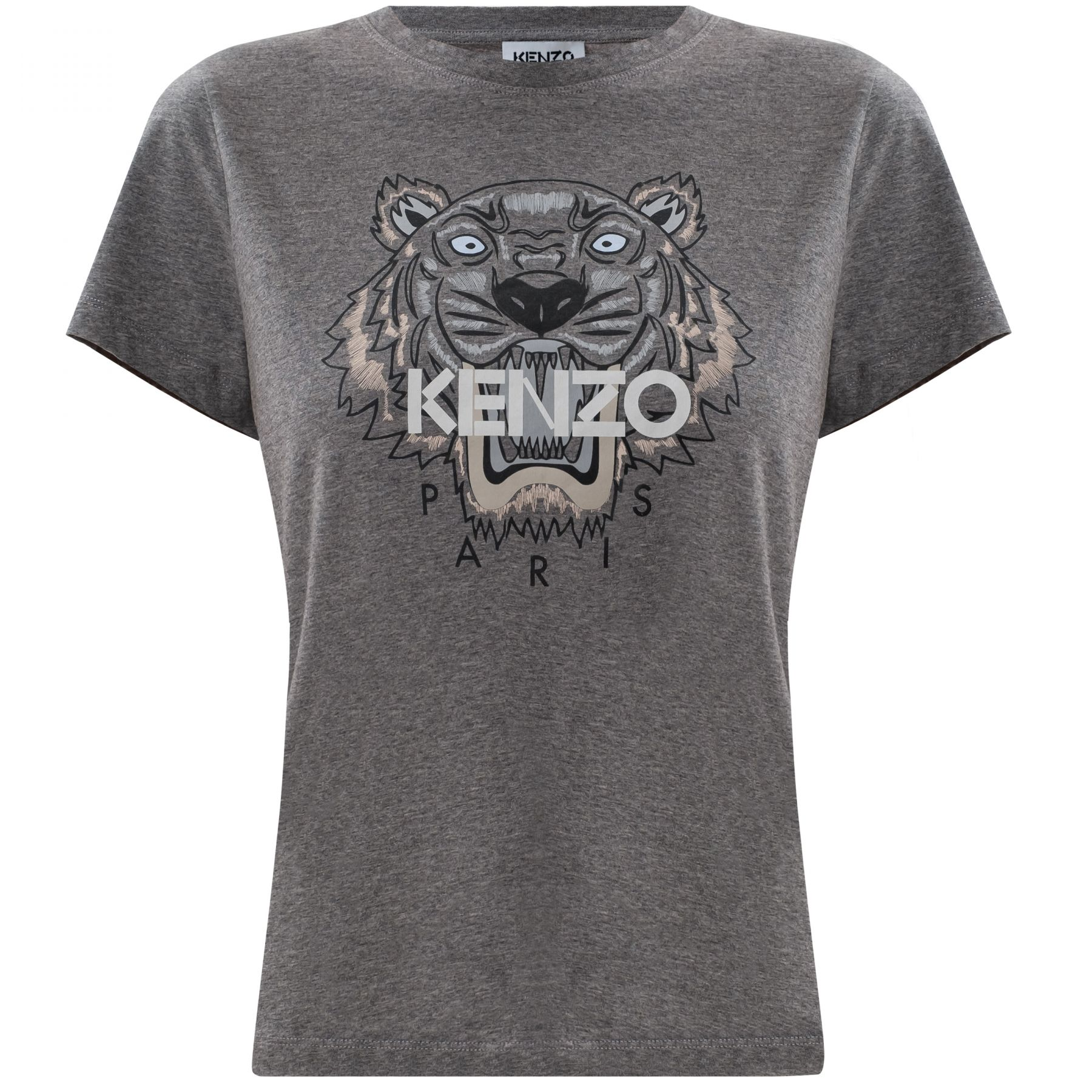 Футболка Kenzo серая