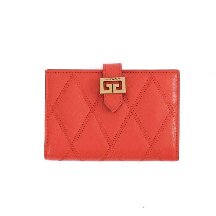 Портмоне Givenchy GV3 красное