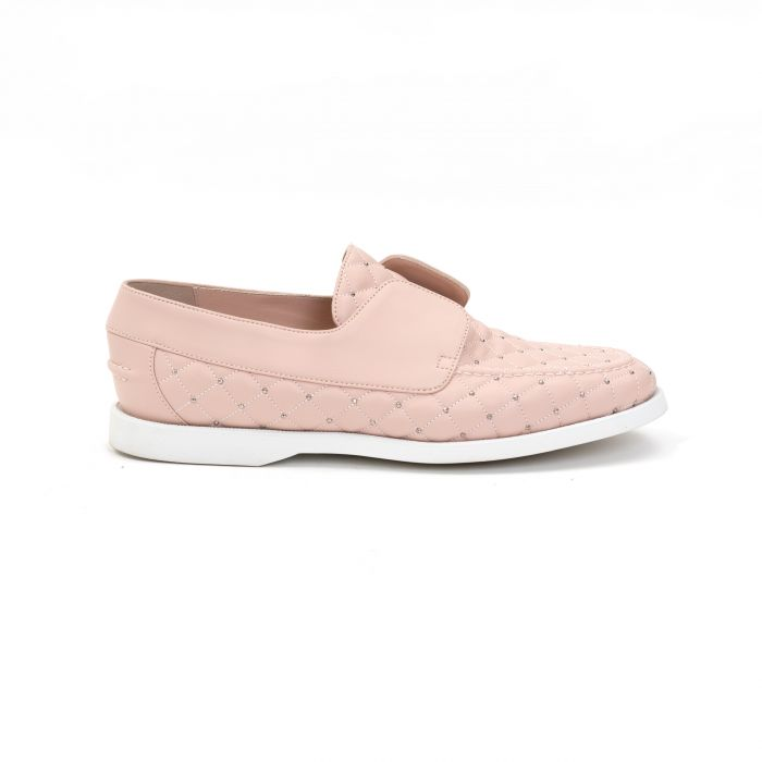 Мокасины Le Silla Yacht розовые