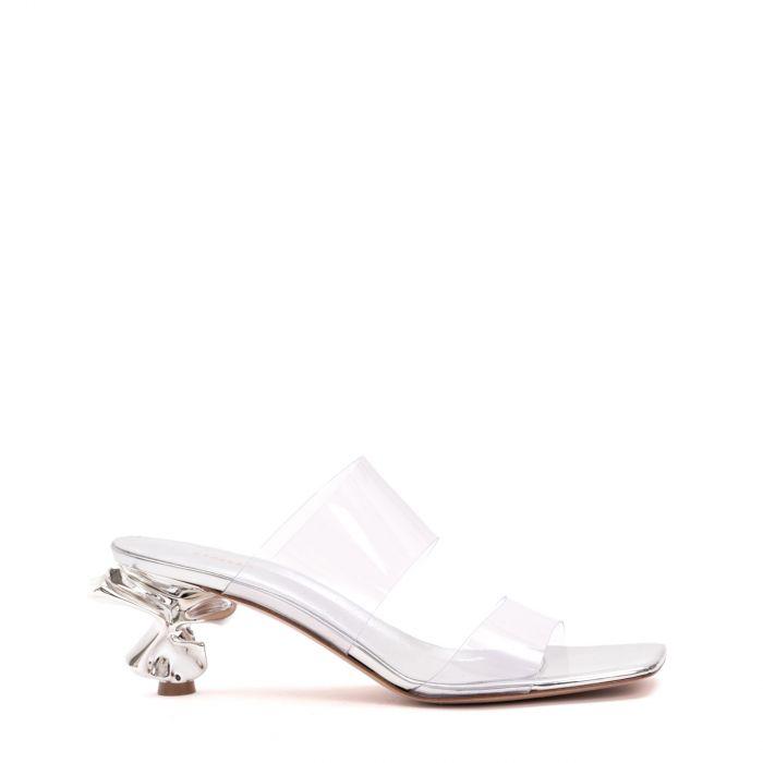 Босоножки Le Silla Candy серебряные