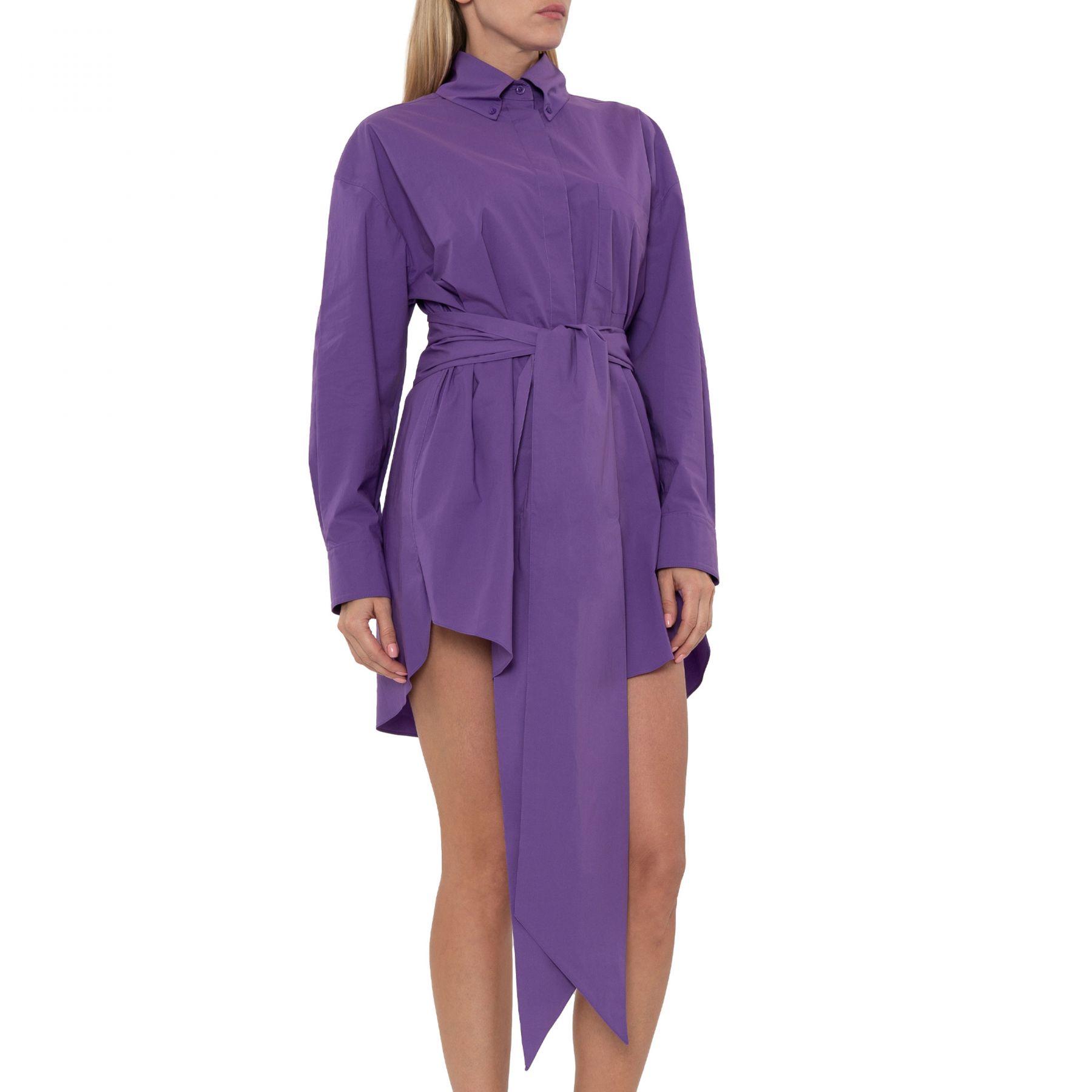 Платье Alexandre Vauthier фиолетовое