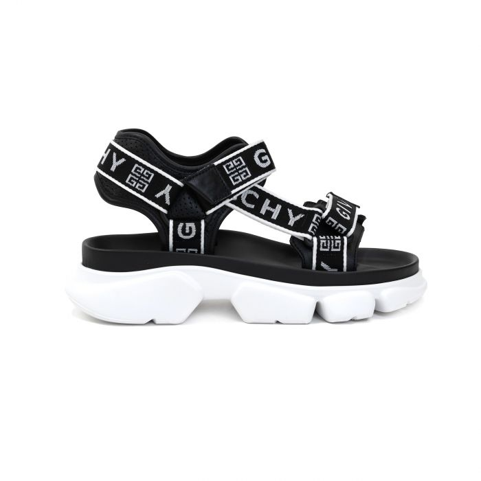 Сандалии Givenchy черно-белые