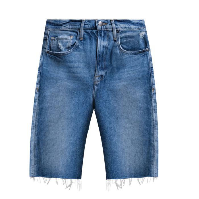 Бермуды Frame Denim La Vintage  синие