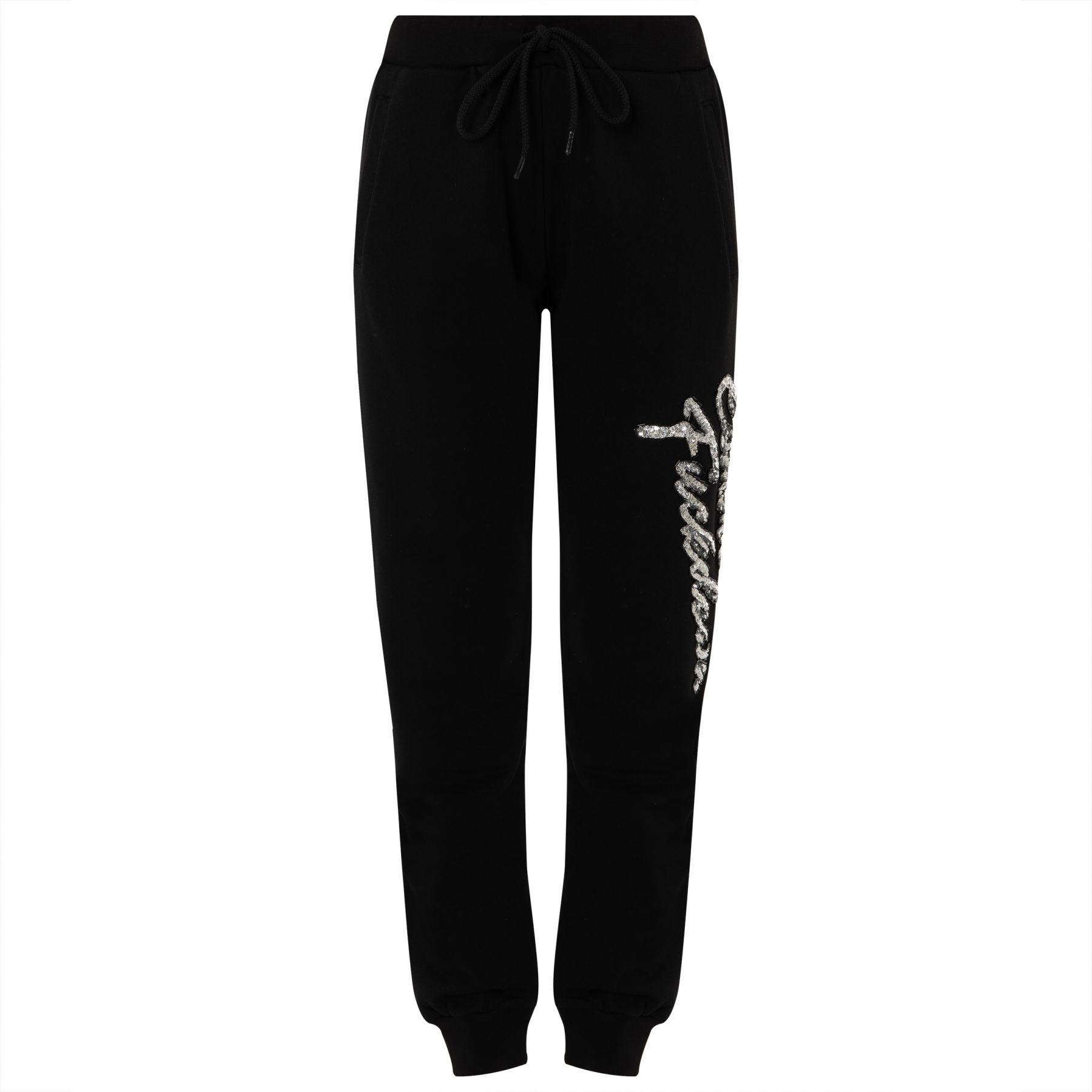 Спортивные брюки COMME des FUCKDOWN черные