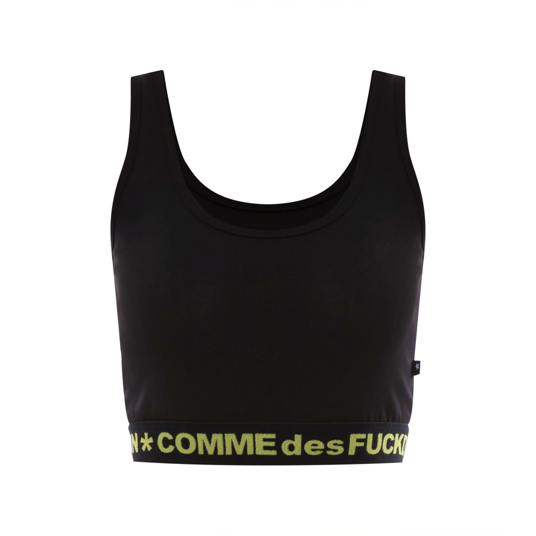 Топ COMME des FUCKDOWN черный