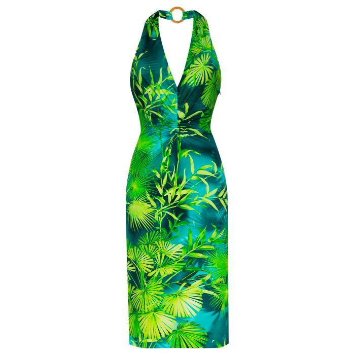Платье Versace зеленое