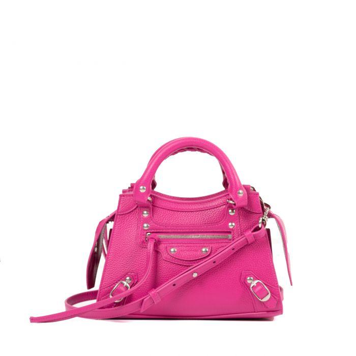 Сумка Balenciaga Neo Classic Mini розовая